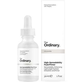 ✨BN✨ The Ordinary High-Spreadability Fluid Primer 30ml