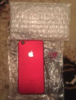 Iphone 6 64 gb (housing model ip 7 red)