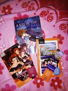 Wattpad book bundle (Mapapansin Kaya, His Personal Slave & Kiss in the rain)
