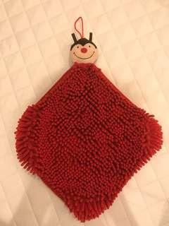 🚚 瓢蟲擦手毛巾