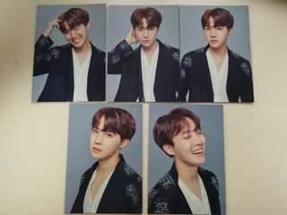The Wings Tour Final JHOPE Photocards