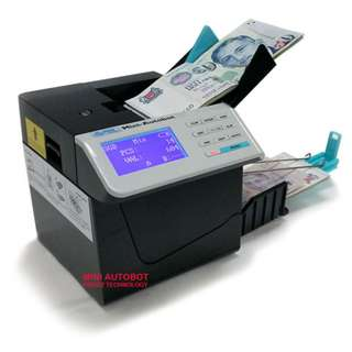 Portable Money Counter / Mini Banknote / Currency Value Counting Machine