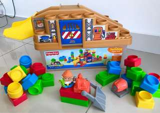 Fisher Price Little People Building Blocks