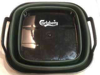 Carlsberg Retractable ice bucket