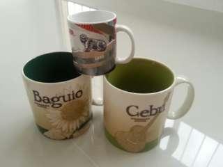 Starbucks icon mugs selling as set