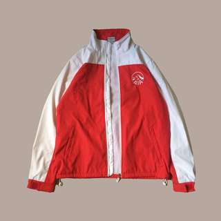 Red and White Vintage Jacket