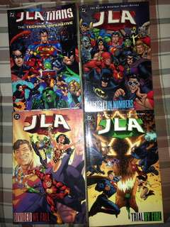 Justice League of America TPB set