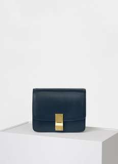 Celine small box in calfskin