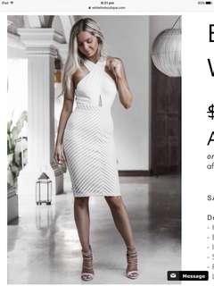 Bentley White Dress-White Fox Boutique Size 6