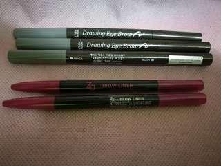 Drawing EyeBrow pencil