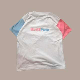 Blue Pink Pastel Korean Shirt