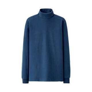 UNIQLO Men Cotton Mockneck Long Sleeve