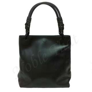 安雅希德瑪芝Anya Hindmarch London – 金屬手框手提包, 黑色, 意大利製造, 95% 新。