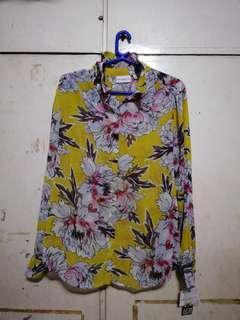 BNEW Floral Polo - Liz Claiborne