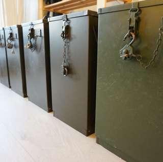 1960 製造 德國 軍用 全新汽化燈含攜行箱 NOS Petromax 500 HK 829B 適合 露營 收藏 4 套