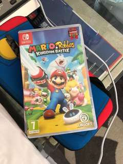 Mario rabbit