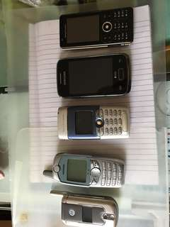 舊款手機. mobile