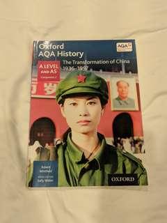 OXFORD AQA HISTORY: TRANSFORMATION OF CHINA