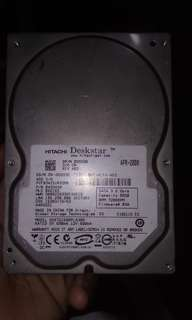 320gb HDD and 80gb HDD