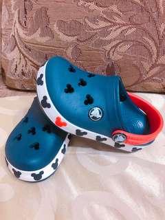 Crocs米奇童鞋 尺寸C8/C9