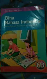 Buku bina Bahasa Indonesia untuk SD VI semester 2