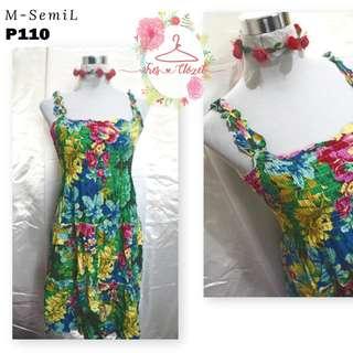 Floral Dress (Ukay Item)