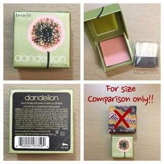 Benefit Dandelion Blusher