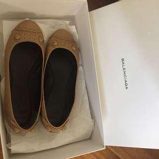 Balenciaga Arena Flat Ballet Shoes