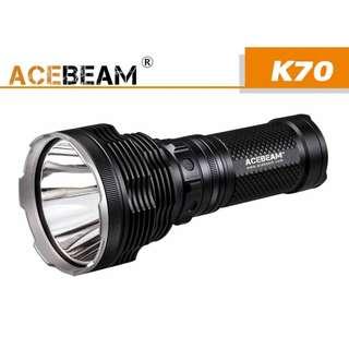 {MPower} AceBeam K70 美國名廠 CREE XHP35 HI LED 2600 流明 LED Flashlight 磁環 電筒 ( 18650 ) - 原裝行貨