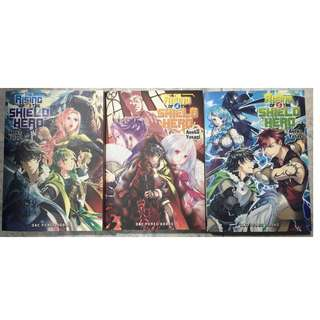 The Rising of the Shield Hero English Light Novel Books 4, 5, 6