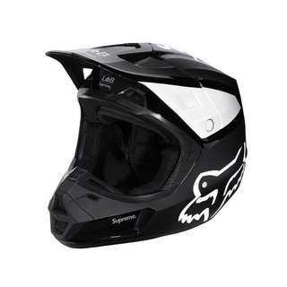 Supreme x Fox Racing helmet black