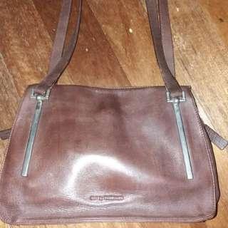 💯Original Rabeanco preloved Vintage leather bag