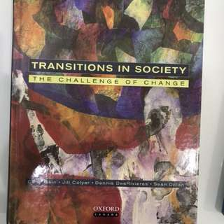 Challenge and change in society textbook