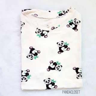 Panda printed top