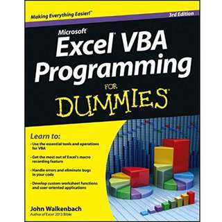 Excel VBA Programming For Dummies, 3rd Edition (425 Page Mega eBook)