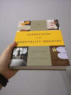 Supervision in The Hospitality Industry (7th edition) - latest