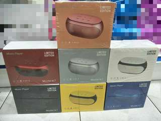 🔊🔥*BRAND NEW* K7 TOUCH SENSOR WIRELESS BLUETOOTH SPEAKER, SUBWOOFER WITH FM RADIO FOR SALE!!🔥🔊