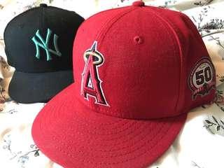 🚚 MLB棒球帽 天使隊50週年紀念款  LA Angels 50th anniversary hat