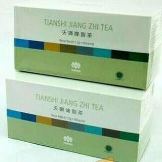 Teh herbal jiang zhi tea