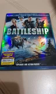 Pre-loved USA Original Battleship Blu Ray Bluray