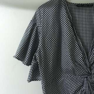 ForMe - Plaid blouse