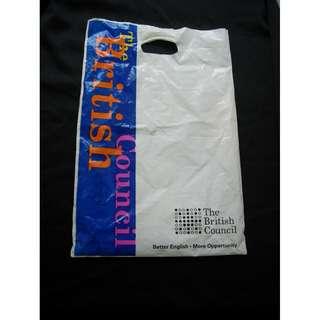 英國文化協會 膠袋 約八十年代