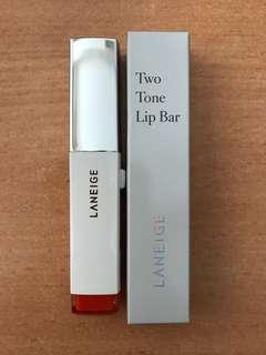 New-Laneige Two Tone Lip Bar no 3 Pink Salmon