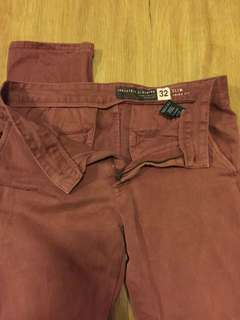 Industry slim fit chino