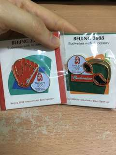 北京奥運 絕版 襟章