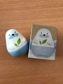 New-Etude House Missing U Hand Cream - Harp Seal Story #Green Tea
