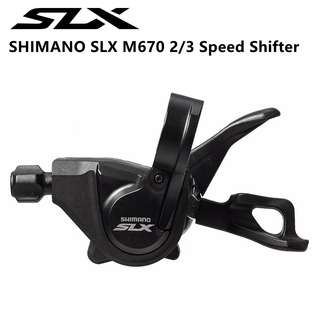 🆕! Shimano SLX M670 2 / 3 Speed MTB Left Shifter    #OK