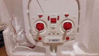 Drone from sweden unit only nasira n box at manual