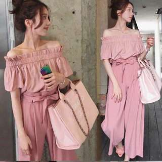 PINK CASUAL TERNO (AG)