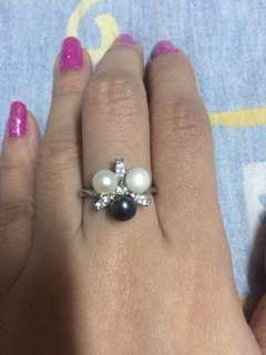 Pearl freshwater ring size 5.5